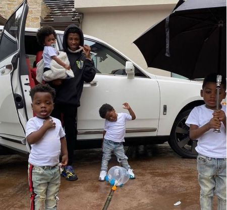Kayden-Gaulden-With-His-Father-and-Siblings