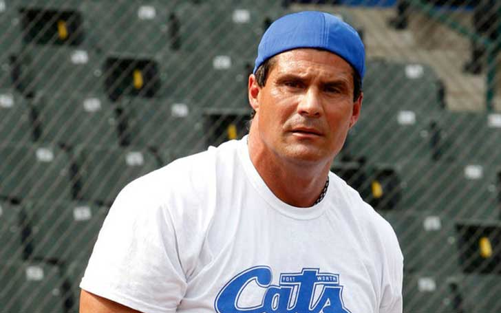 Esther Haddad's ex-husband Jose Canseco